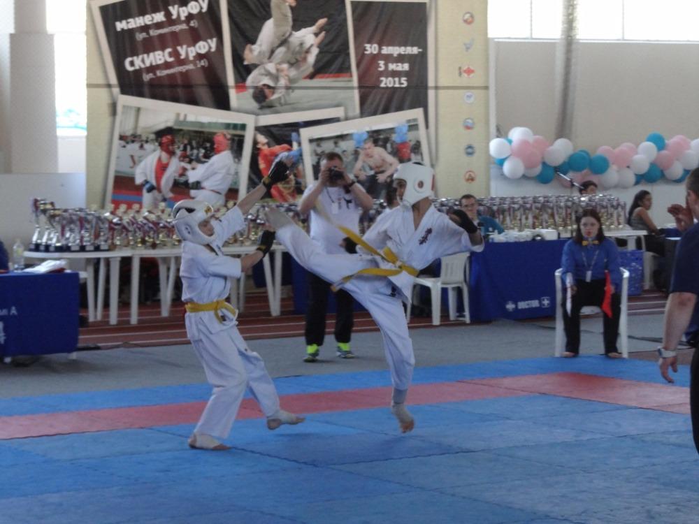 Чемпионат России 2015 Каратэ Киокушинкай