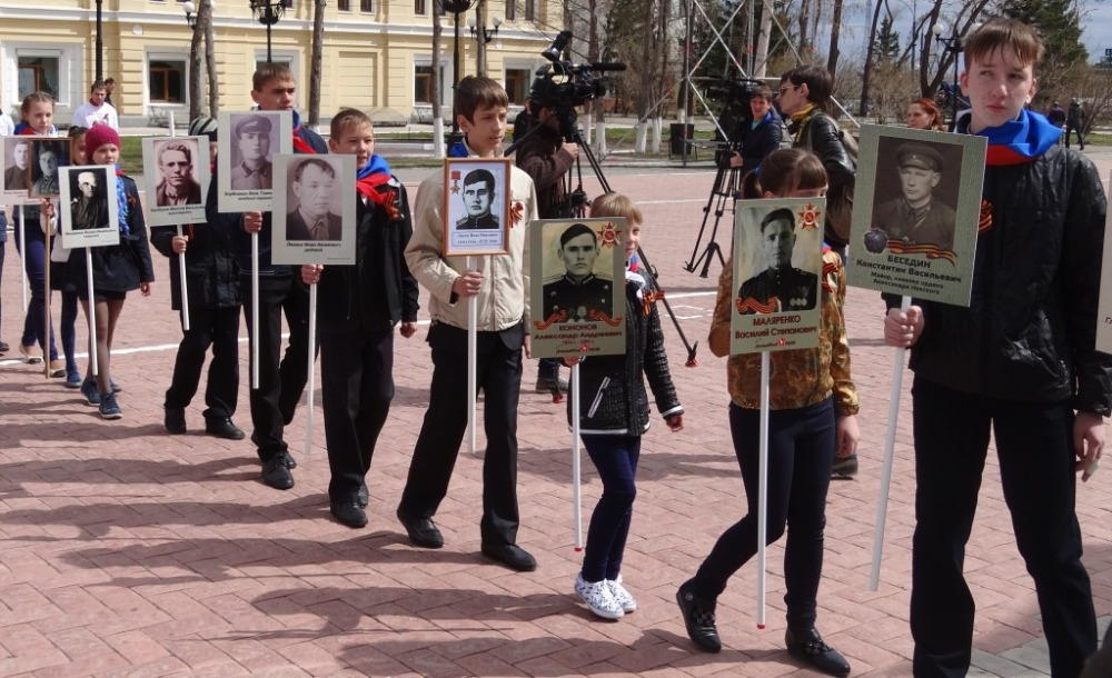 марафон-эстафета посвящённая 70-ти летию Победы в Великой Отечественной Войне