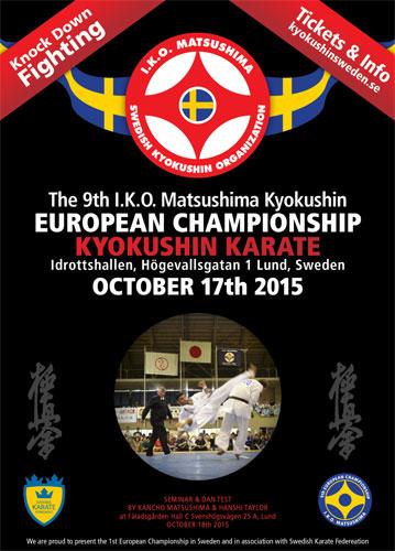 9ый чемпионат каратэ киокушинкай Европа